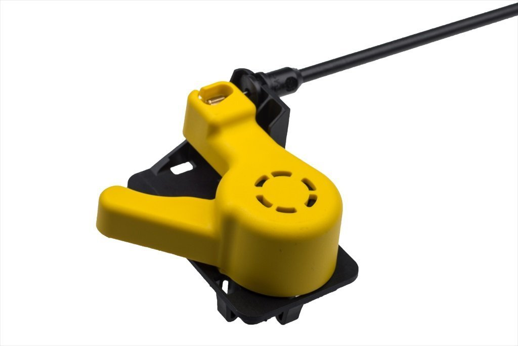 2012-2015 Ford Focus Hood Latch Open Release Yellow Pull Handle Cable OEM NEW