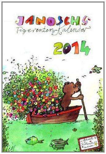 tigerentenkalender-2014-12-monatsbltter-mit-frhlich-bunten-janosch-bildern-und-kalendarium-dezemberblatt-als-adventskalender