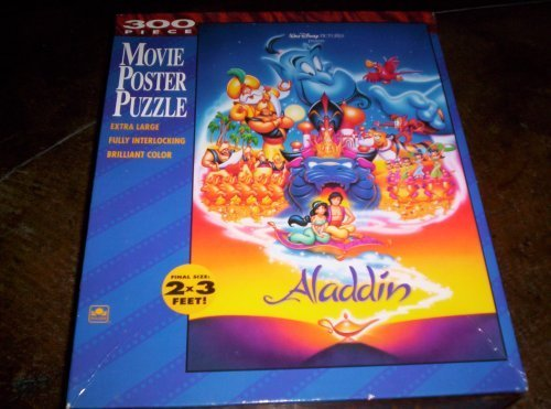 Aladdin Extra Large Movie Poster Puzzle - 300 Pieces - 2x3 F