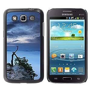 Caucho caso de Shell duro de la cubierta de accesorios de protección BY RAYDREAMMM - Samsung Galaxy Win I8550 - Lago Árbol