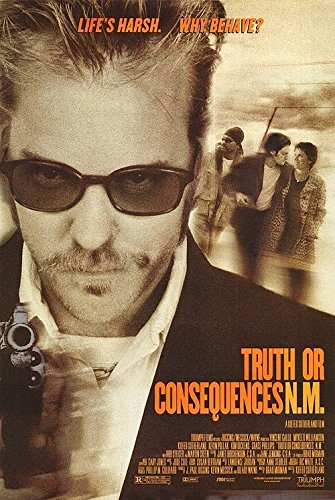 (TRUTH OR CONSEQUENCES N.M. (1997) Original Movie Poster 27x40 - Dbl-Sided - Vincent Gallo - Kiefer Sutherland - Max Perlich - Rod Steiger)