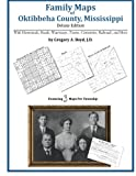 Family Maps of Oktibbeha County, Mississippi