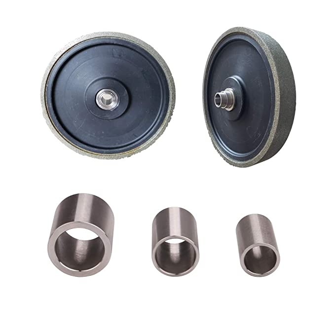 """Reducing Bushing Adapters for Bench Grinding Wheels 1//2/"""", 5//8/"""", and 3//4/"""""""