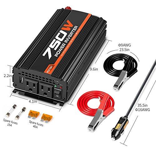 potek-750w-car-power-inverter-dc-12v-to-110v-dual-ac-charging-port-and-2a-usb-port-for-laptop-smart-phone
