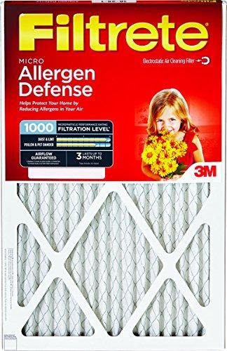 3M 9827DC-6 16'' X 30'' Filtrete Micro Allergen Filter by 3M