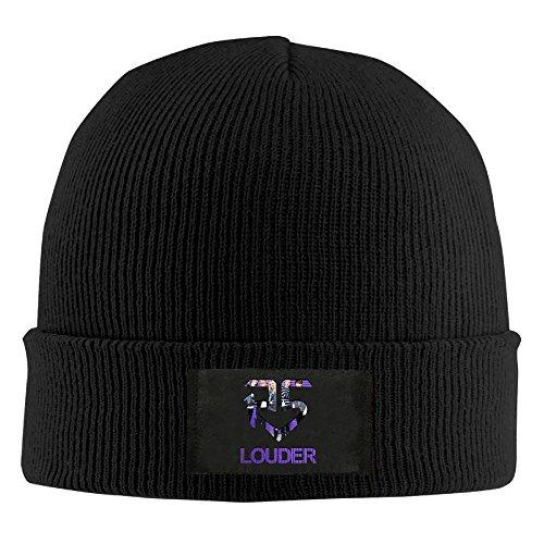 Amone R5 Louderx Winter Knitting Wool Warm Hat Black