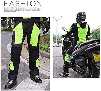 LVNRIDS Pantalon de protection de moto unisexe avec doublure amovible