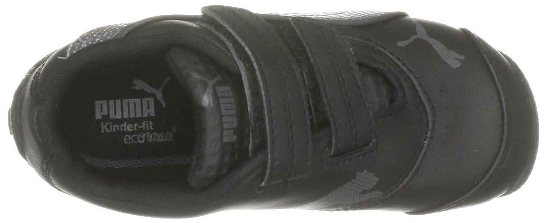 Puma Sports Lifestyle Slip-on Unisex per bambini, nero (Black-dark Shadow), 38 EU