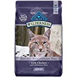 BLUE Wilderness Adult Grain Free Chicken Dry Cat Food 12-lb