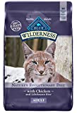BLUE Wilderness Adult Grain-Free Chicken Dry Cat Food 12-lb