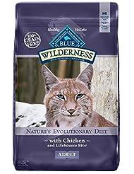 BLUE Wilderness Adult Grain-Free Chicken Dry Cat Food 12-lb