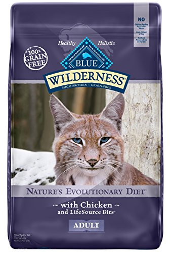 BLUE Wilderness Adult Grain Free Chicken Dry Cat Food 12-lb