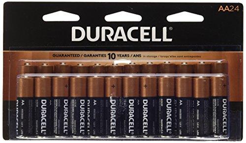 Duracell Coppertop AA Alkaline Batteries, 24 - Duracell Aa