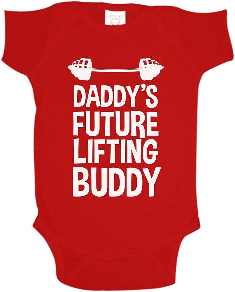Daddy'S Future Lifting Buddy Baby ein Piece oder Toddler T-Shirt