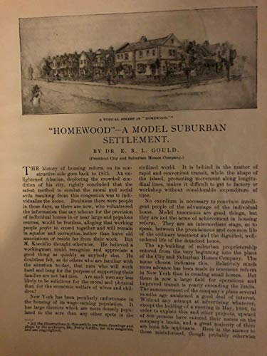 1897 Homewood New York Architect Percy Griffin illustrated