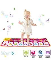 PROACC piano speelmat, kinder piano klavier muziek speelmat speelgoed, groot formaat (39 * 14 inch) Grappige dansmat voor baby's peuter jongens en meisjes cadeau