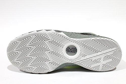 Nike Kyrie 1jóvenes blanco/negro/voltaje/plata Athletic zapatillas Dp Pewter/Volt-tmbld Gry/Night Silver