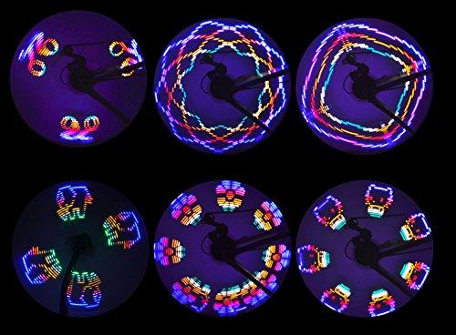 LED Bicycle Wheel Light 42 Styles Bike Spoke Lights Night Rider Decoration Safety & Warning by BuryTony (Image #7)