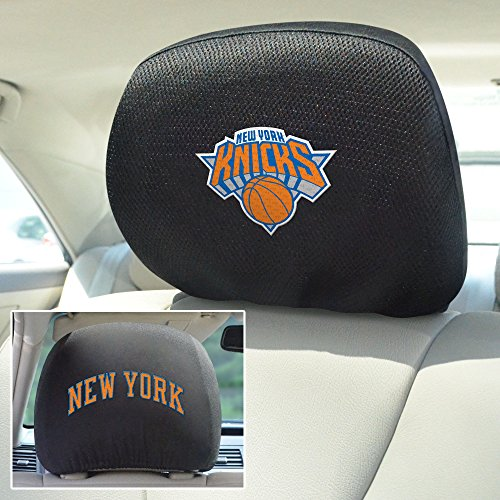 FANMATS  14775  NBA New York Knicks Polyester Head Rest Cover