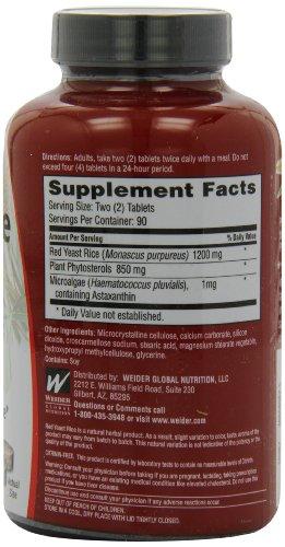 Weider Yeast Rice Plus mg 2 -