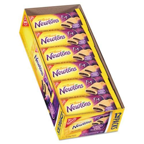 Nabisco Fig Newtons - Nabisco Newtons Fig Cookies, 2 Oz, 12 Count(Pack of 1)