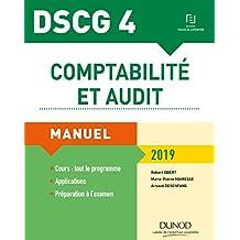 DSCG 4 - Comptabilité et audit 2019 : Manuel (Expert Sup) (French Edition)