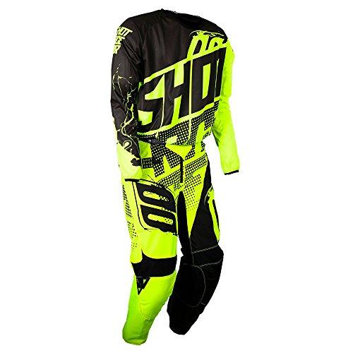 Shot Race Gear Youth Devo Kid Venom Neon Yellow Jersey/Pant Combo - Size Y-XLARGE/24W by Shot Race Gear (Image #4)