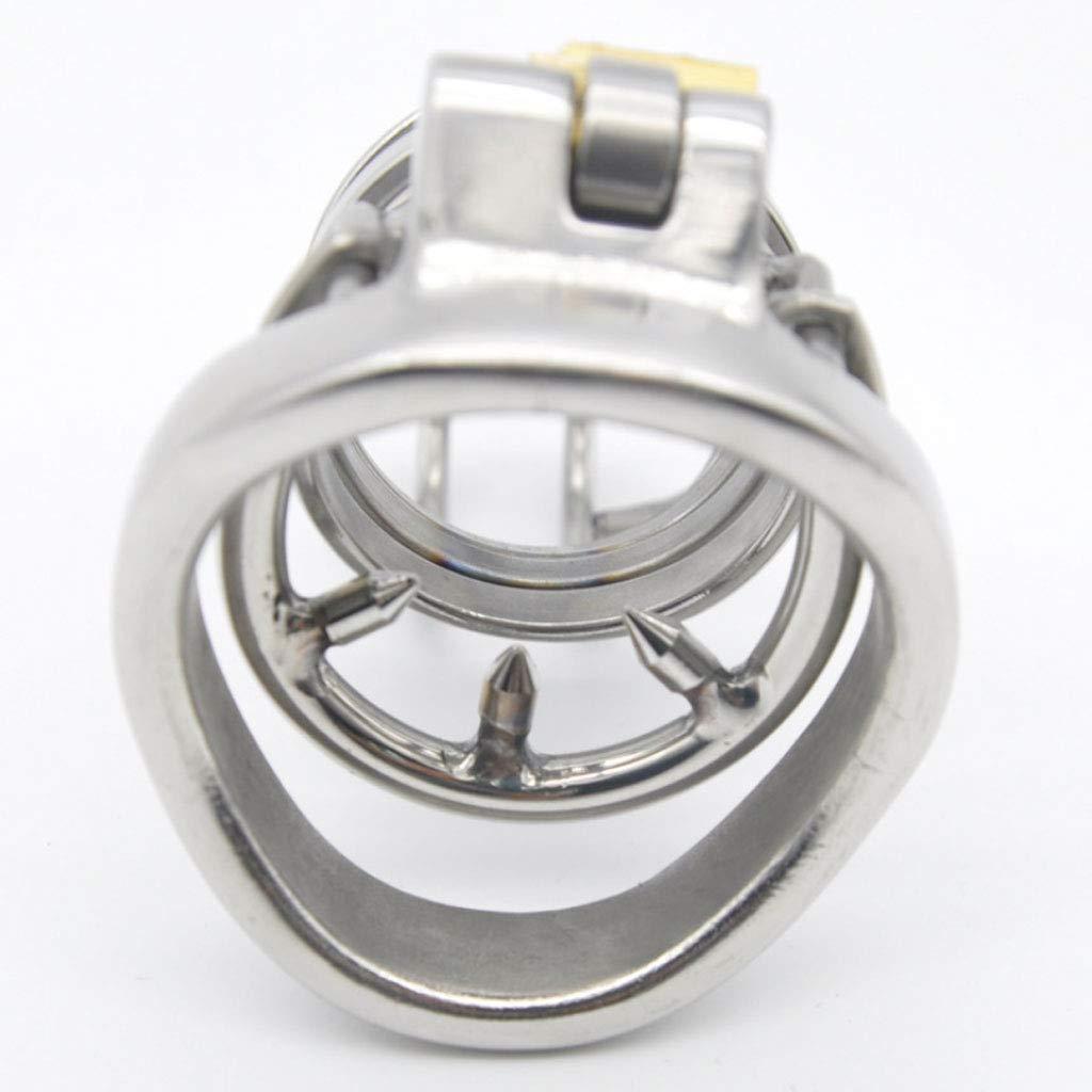 Jaulas de Chastity pene Chastity de Belt for Penis Lock Restraint Bondage Fetish with Anti-Off Ring (Tamaño : 40mm) e6f3a5