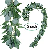 Felice Arts Artificial Eucalyptus Leaves,2 Pack