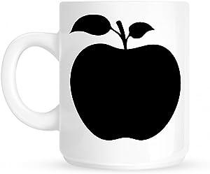Apple Chest Logo Coffee Mug White