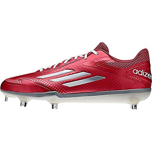 sale 2015 sale professional adidas Adizero Afterburner 2.0 Mens Baseball Shoes Power Red/Tech Grey/White buy cheap nicekicks discount high quality EpK9PeyR