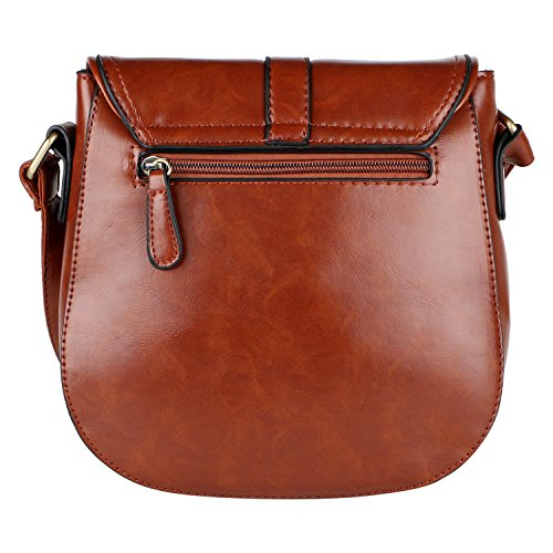 LINO BROWN PERROS WOMEN'S SLING PERROS BAG LINO LEATHER OwZdxFyq