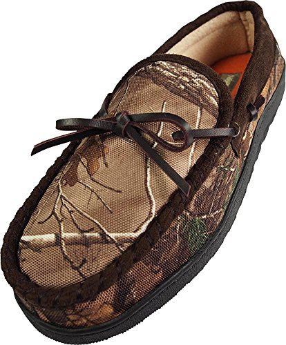 Image of Realtree Northern Trail - Mens Camouflage Moccasin Slipper