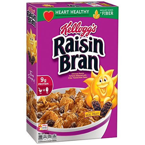 3 Pack of Kellogg's Raisin Bran Breakfast Cereal, 18.7 Ounce Box ONLY $4.50 **HOT**