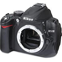 Nikon D5000 12.3 MP DX Digital SLR Camera with 2.7-inch...