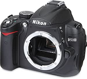 Nikon D5000 12.3 MP DX Digital SLR Camera with 2.7-inch Vari-angle LCD (Body Only)