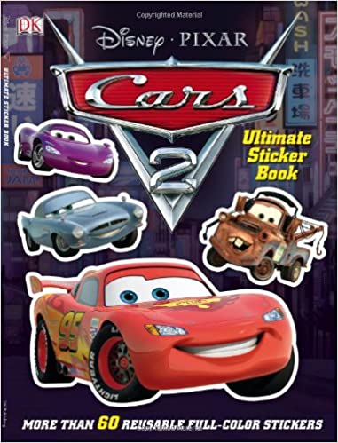 Ultimate Sticker Book Cars Ultimate Sticker Books DK - Cars 2 cool cars book