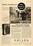 1935 Ad Philco 116X High-Fidelity Tube Radios