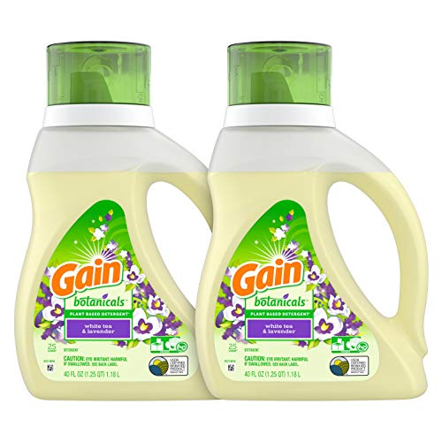 Gain Botanicals Laundry Detergent, & Lavender,