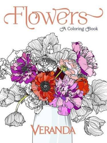 Veranda Flowers: A Coloring Book