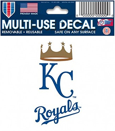 MLB Kansas City Royals 84408010 Multi-Use Decal, 3