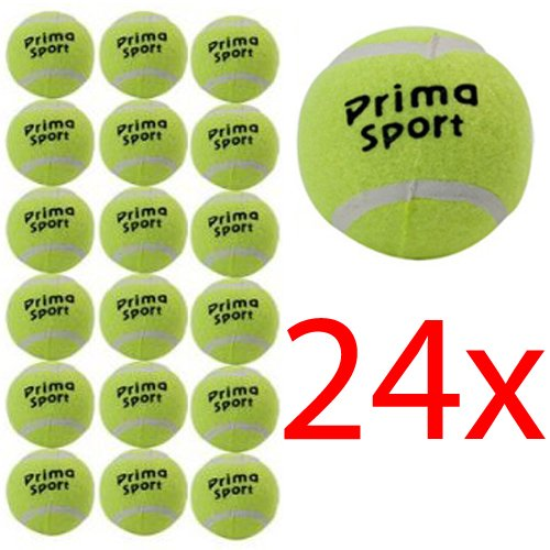 24 X TENNIS BALLS SPORT PLAY CRICKET DOG TOY BALL OUTDOOR FUN BEACH LEISURE NEW (Packaging May Vary) BARGAINS-GALORE