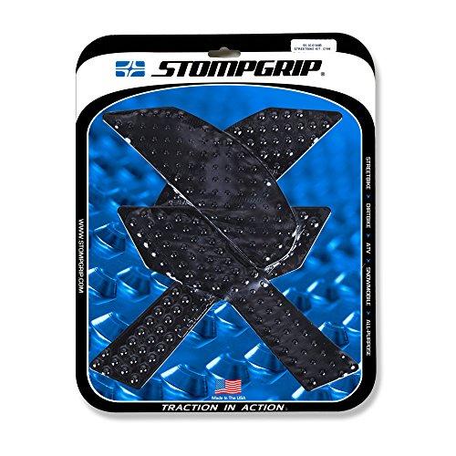 17-19 KAWASAKI ZR900: STOMPGRIP Traction Pads (BLACK)