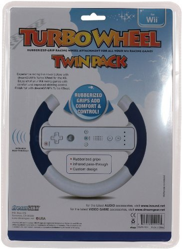 Wii Turbo Wheel - Portable, Wii Turbo Wheel Twin Pack - 1094 Consumer Electronic Gadget Shop