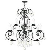 Livex Lighting 50770-92 Modern 12-Light English Bronze Chandelier