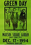 Amazon Price History for:Green Day Concert Poster, Madison Square Garden, New York City