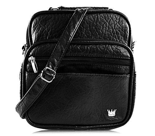 - Purse King Lily Black Cross Body Bag