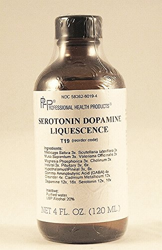 Homeopathic Serotonin Dopamine Liquescence, Mood Support, Depression, 4 Oz.
