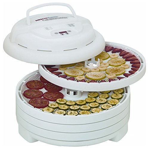 FD-1040 Gardenmaster Digital Pro Food Dehydrator Faster Fruit And Vegetables, Herbs And Flowers, Ganola Or Strips (Nesco 1040 Food Dehydrator)