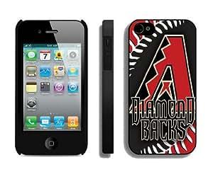 Element Best Iphone 4 Case 4s Covers MLB Arizona Diamon Dbacks 01 Coolest Customize Phone Cases